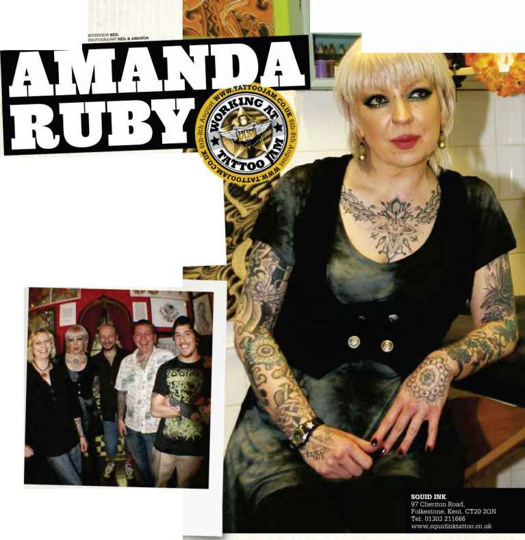 Amanda Ruby Tattoo Artist