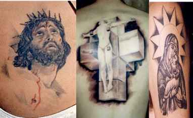 Last Supper Bible Tattoo