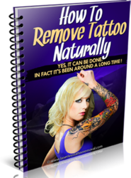How To Remove Tattoo Naturally