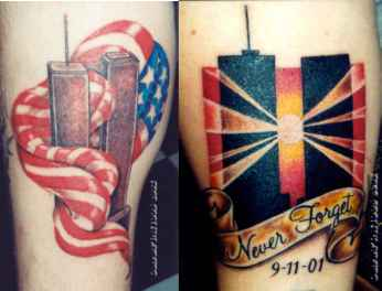War Commemorative Tattoos