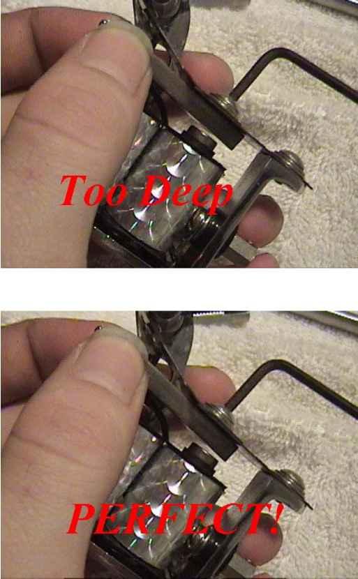 Step Five Adjusting The Armature Tattoo Machines