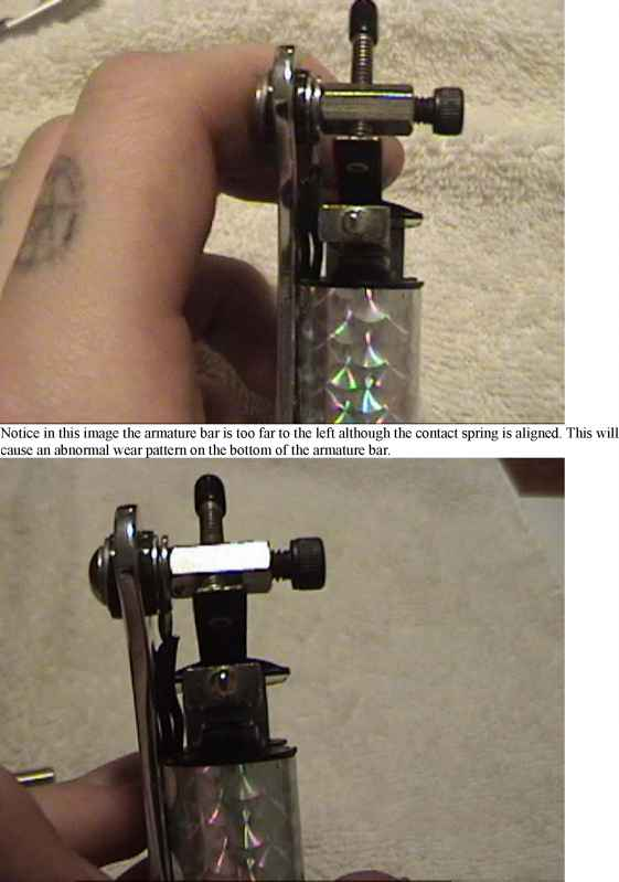 Adjusting Tatoo Machines