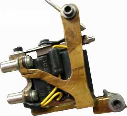 Tattoo Machine Made Wood