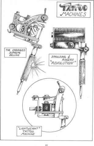 Tattoo Hand Made Machine Diagrams