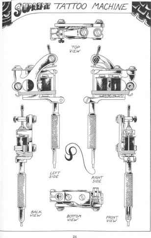 Tattoo Machine Diagrams