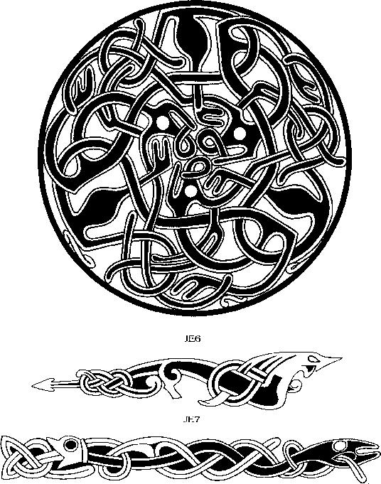Jellinge Style - Viking Art - Tattoo Magic